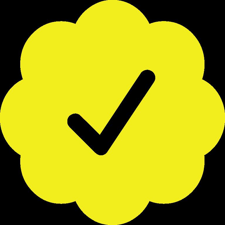 :verified_yellow: