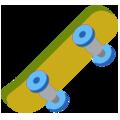 :skateboard: