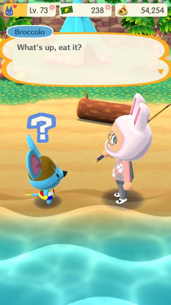 Michael gary wirth lol what the heck kind of greeting is this i lol what the heck kind of greeting is this im gonna start saying eat it to everyone i meet animalcrossing animalcrossingpocketcamp m4hsunfo