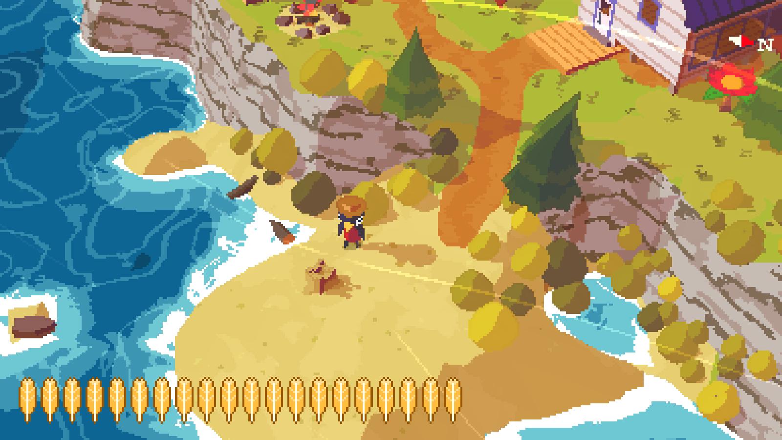 A screenshot of A Short Hike