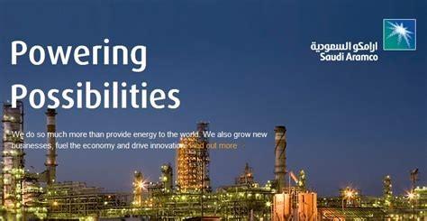 Werbebild von Saudi Aramco