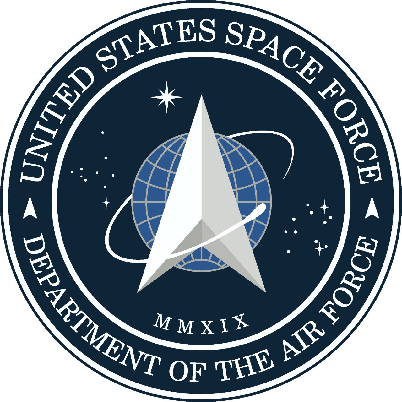 United States Space Command logo (oddly reminiscent of the Starfleet logo)