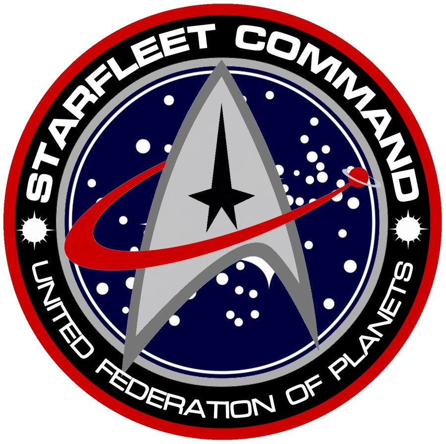 Starfleet Command logo of the United Federation of Planets