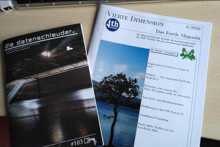 Zweig zeitschriften: datenschleuder #103 und Vierte Dimension 4/2020